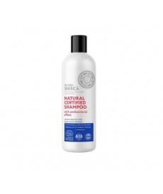 Prirodni sertifikovani šampon sa antibakterijskim efektom ultra zaštita i hidratacija