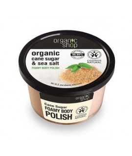 Organic Shop pjenušavi piling od šećerne trske