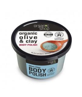 Organic Shop piling za tijelo sa maslinom i glinom 250 ml