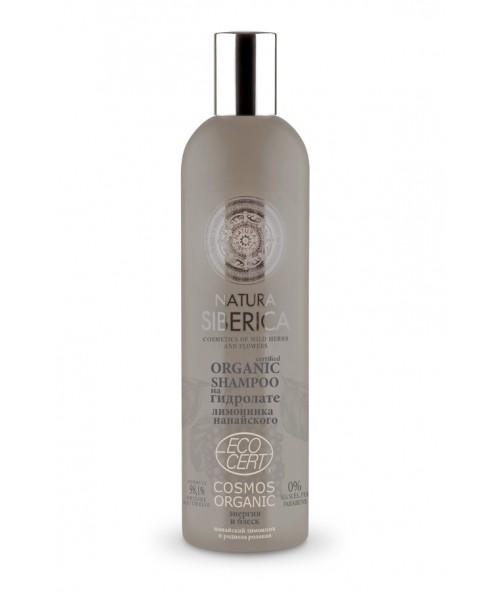 Energetski šampon za sjaj slabe i beživotne kose na bazi hidrolata šisandre 400ml