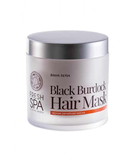 Maska za kosu od crnog čička