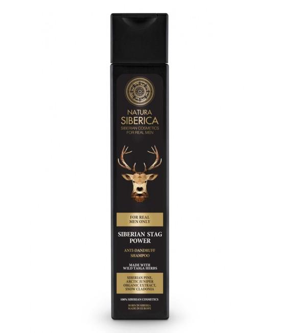 Šampon protiv peruti - Snaga sibirskog jelena
